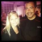 The Mexico Report 's Susie Albin-Najera with Chef Javier Plascencia