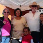 Bill Spradlin and Lupita-and-children